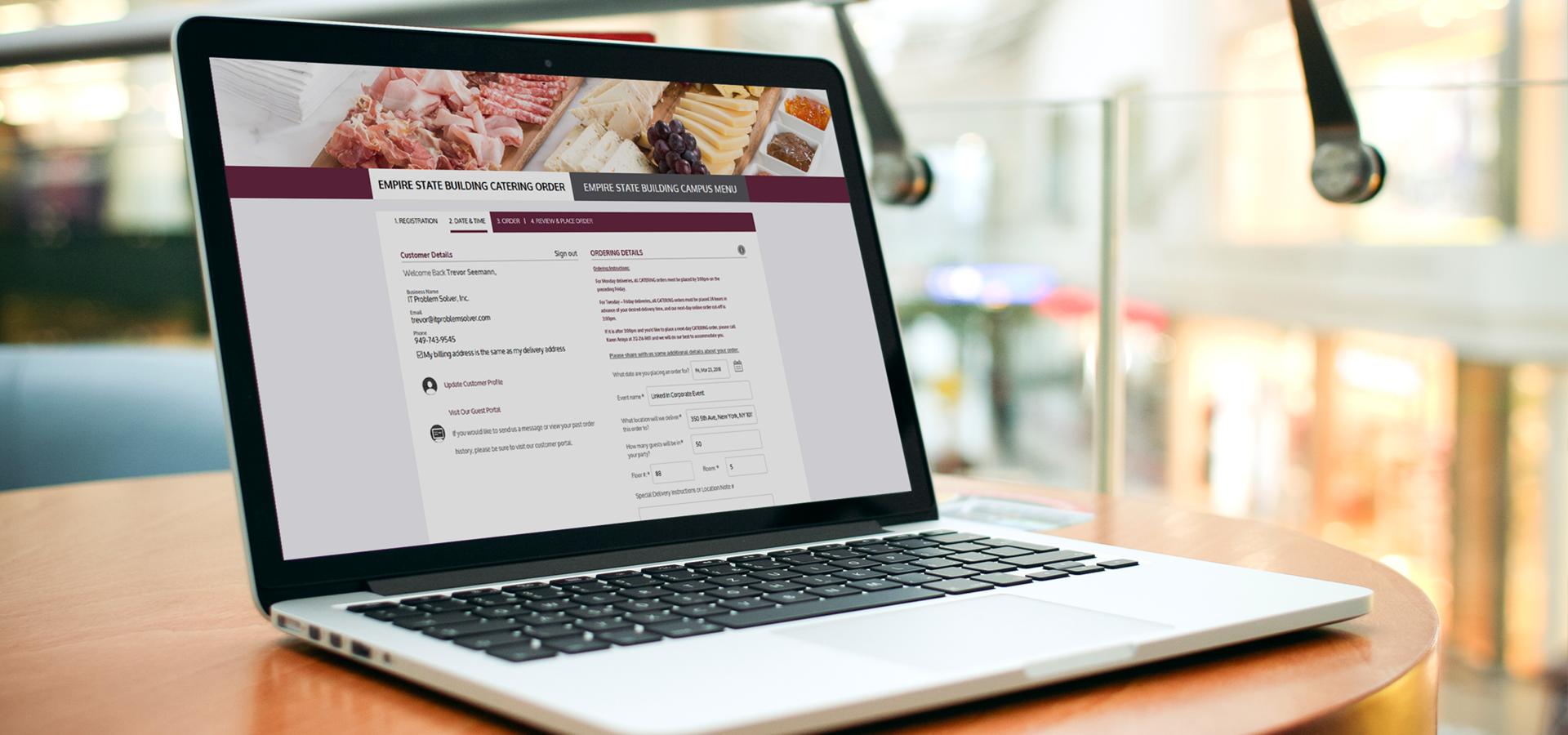 Online Catering Management – IT Problem Solver, Inc.